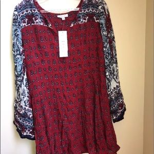 Anthropologie Patrons of Peace dress size m red